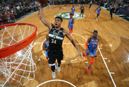 Milwaukee Bucks domina e massacra Oklahoma City Thunder em casa