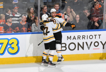 Pastrnak decide e Bruins vencem Oilers em Edmonton - The Playoffs