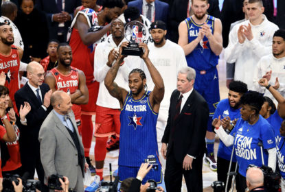 Kawhi Ganha MVP do All-Star Game e dedica a Kobe: 'Esse aqui é por ele' - The Playoffs