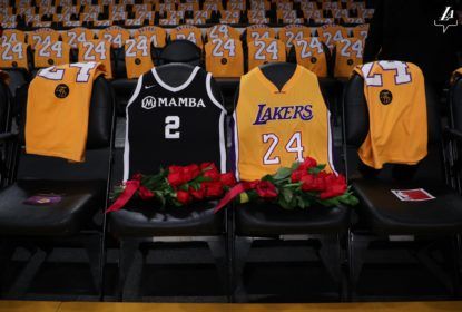 Lakers prestam homenagens a Kobe Bryant antes de duelo com os Blazers - The Playoffs