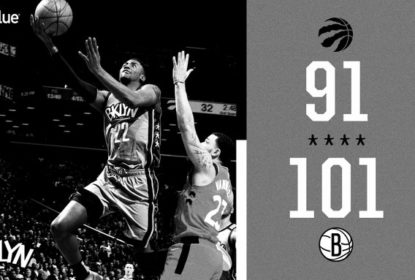 Brooklyn Nets vence por 101 x 91 e acaba com sequência de 15 vitórias do Toronto Raptors - The Playoffs