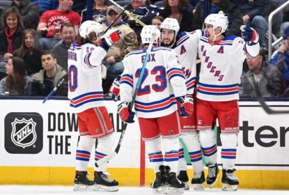 Rangers vencem Blue Jackets e seguem na busca por vaga na pós-temporada - The Playoffs