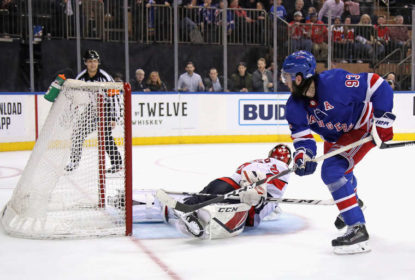 Zibanejad dá show no Madison Square Garden e Rangers vencem Capitals - The Playoffs