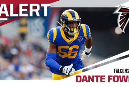 Falcons acertam com defensive end Dante Fowler por três anos - The Playoffs