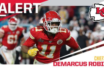 Chiefs renovam com wide receiver Demarcus Robinson por um ano - The Playoffs