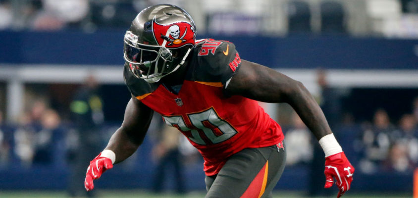 Jason Pierre-Paul renova com o Tampa Bay Buccaneers