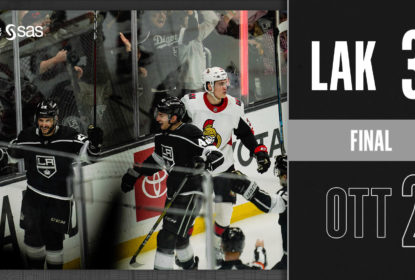 Los Angeles Kings vence Ottawa Senators e mantém série invicta - The Playoffs