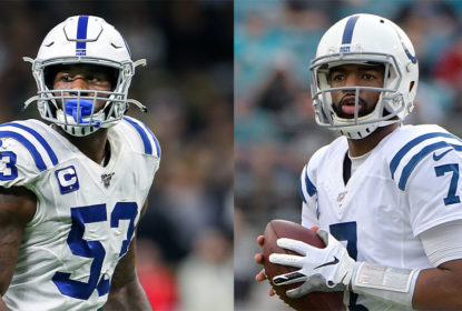 Darius Leonard defende Jacoby Brissett como quarterback titular do Indianapolis Colts