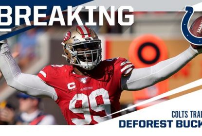 DeForest Buckner é trocado para os Colts