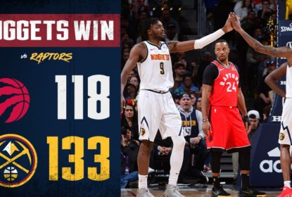 Nuggets vencem Raptors com triple-double de Nikola Jokic - The Playoffs