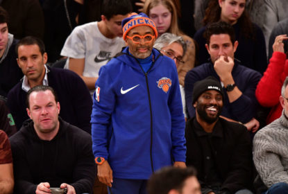 NEW YORK, NY - DECEMBER 16: Spike Lee attends the Oklahoma City Thunder Vs New York Knicks game at Madison Square Garden on December 16, 2017 in New York City