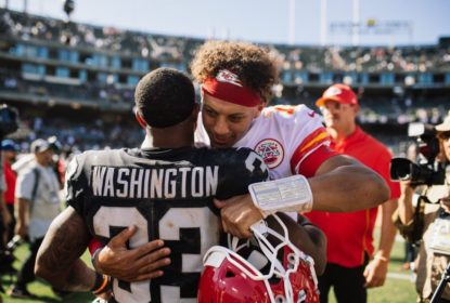 DeAndre Washington assina por um ano com o Kansas City Chiefs - The Playoffs