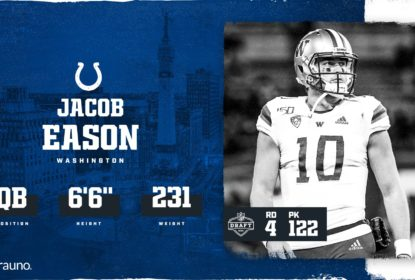 Jacob Eason é escolhido pelos Colts na quarta rodada do Draft 2020 - The Playoffs