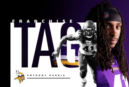 Anthony Harris assina franchise tender com o Minnesota Vikings - The Playoffs