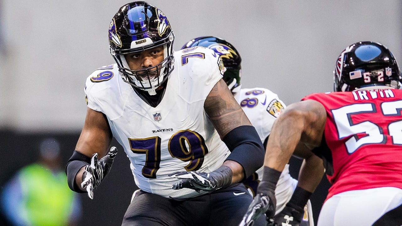 Left tackle do Baltimore Ravens Ronnie Stanley