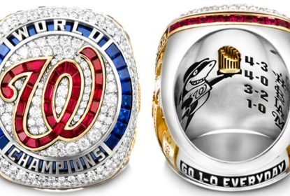 Jogadores do Washington Nationals recebem anéis da World Series - The Playoffs