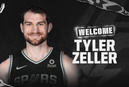 Spurs assinam com pivô Tyler Zeller para o restante da temporada - The Playoffs