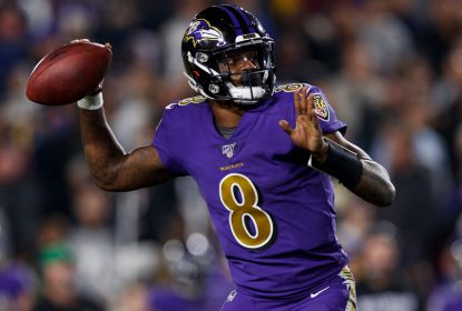 Lamar Jackson declara esperança em contar com Antonio Brown nos Ravens - The Playoffs