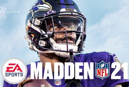 Lamar Jackson é a capa do Madden NFL 21 - The Playoffs