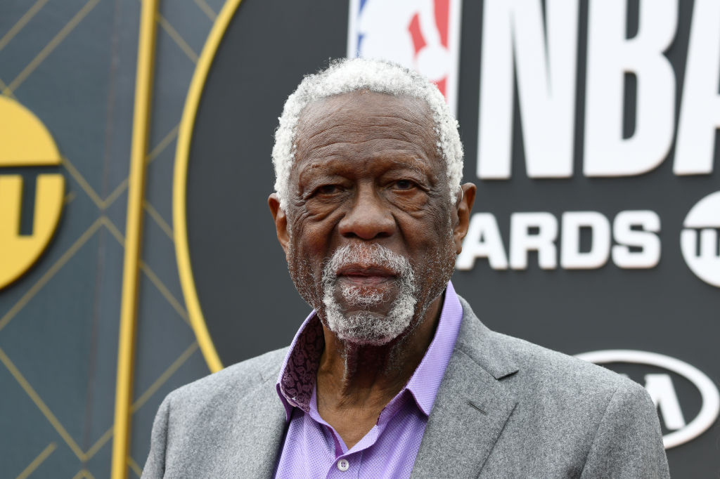 SANTA MONICA, CALIFORNIA - JUNE 24: Bill Russell attends the 2019 NBA Awards presented by Kia on TNT at Barker Hangar on June 24, 2019 in Santa Monica, California