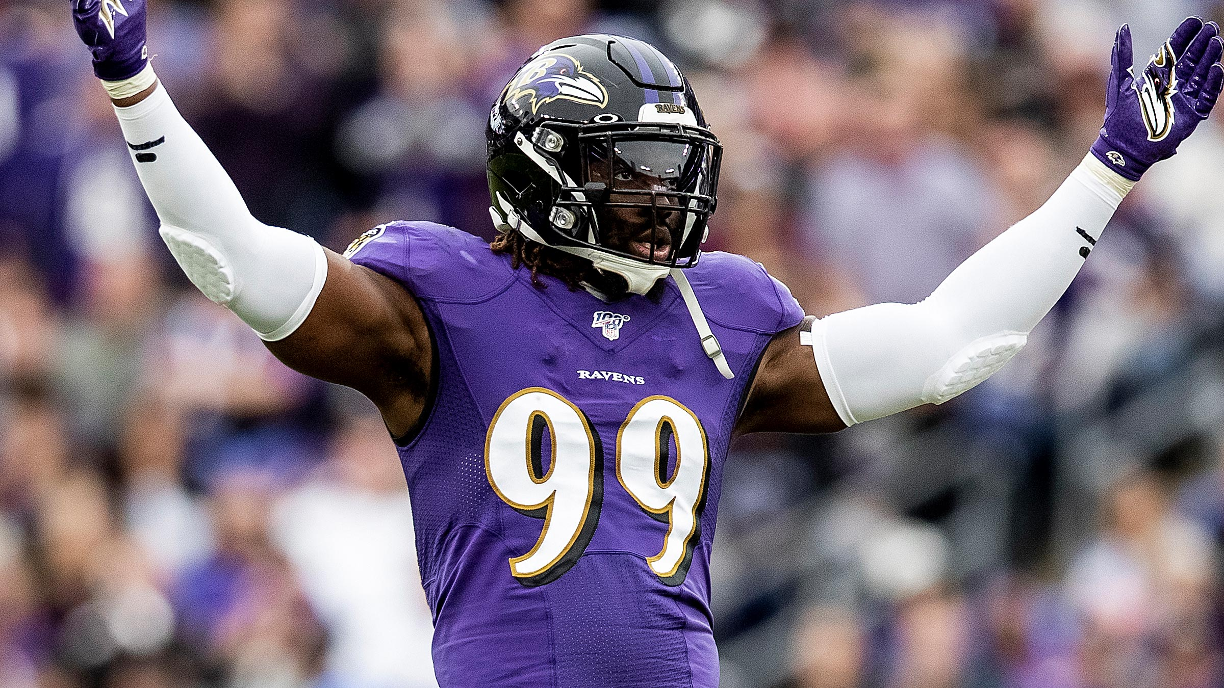 Linebacker do Baltimore Ravens Matthew Judon