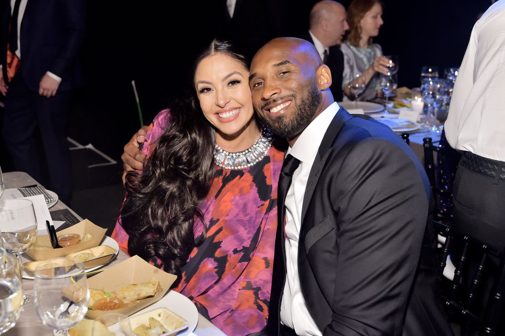 LOS ANGELES, CALIFORNIA - NOVEMBER 09: Vanessa Laine Bryant and Kobe Bryant attend the 2019 Baby2Baby Gala presented by Paul Mitchell on November 09, 2019 in Los Angeles, California.