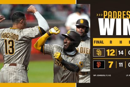 San Diego Padres vence San Francisco Giants em 10 innings - The Playoffs