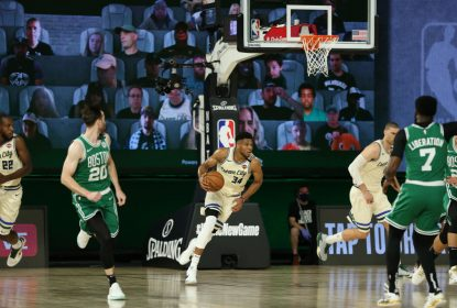 Antetokounmpo brilha em vitória do Milwaukee Bucks contra o Boston Celtics - The Playoffs