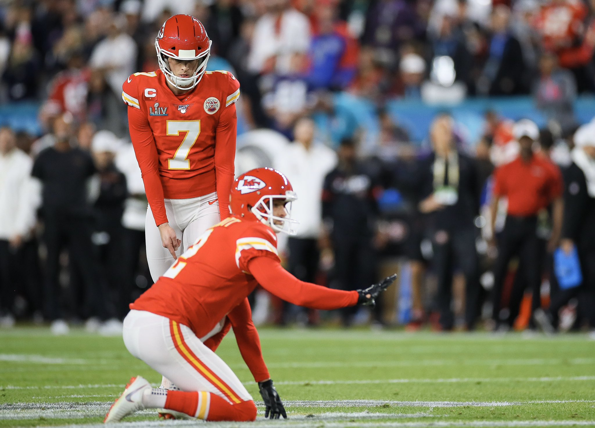 Harrison Butker - kicker Kansas City Chiefs