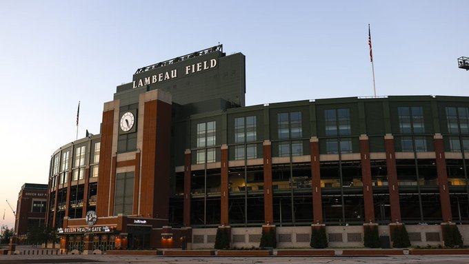 Lambeau Field - home of the Green Bay Packers