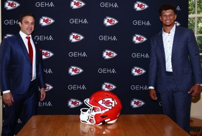 Patrick Mahomes comenta renovação e elogia estabilidade do Kansas City Chiefs - The Playoffs