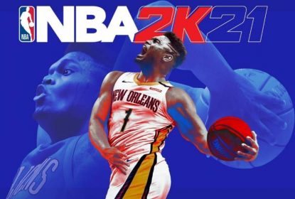Zion capa do NBA 2K21