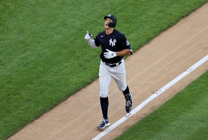 Com lesão na panturrilha, Aaron Judge é colocado na lista dos contundidos dos Yankees - The Playoffs