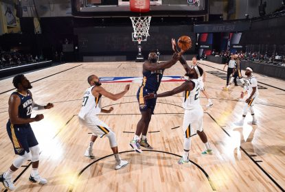 Jazz derrotam Pelicans em primeira partida no retorno da NBA - The Playoffs