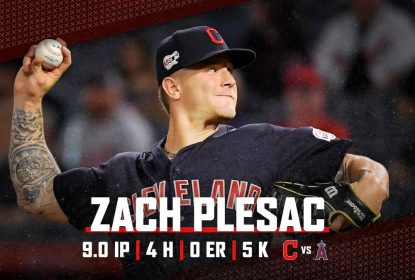 Indians mandam Zach Plesac para casa após quebra de isolamento - The Playoffs