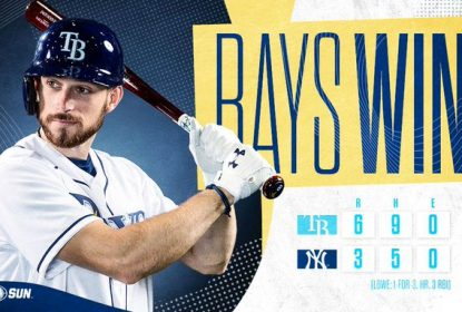 Tampa Bay Rays bate New York Yankees e se aproxima da ponta da divisão - The Playoffs