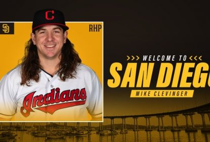 Indians trocam Mike Clevinger com Padres - The Playoffs