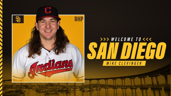 Mike Clevinger nos Padres