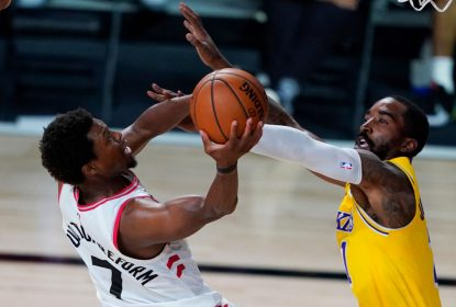 Lowry brilha e Raptors derrubam Lakers - The Playoffs
