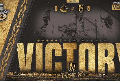 Vegas Golden Knights goleia Vancouver Canucks no primeiro jogo - The Playoffs