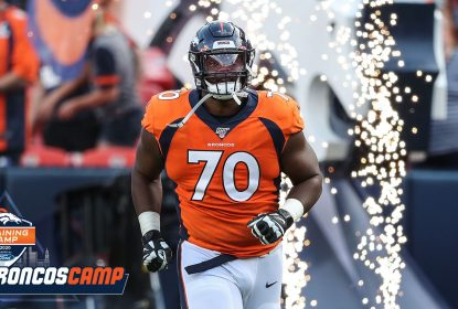 Broncos cortam tackle Ja'Wuan James - The Playoffs