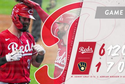 Reds vencem rodada dupla contra Brewers após protestos por Jacob Blake - The Playoffs