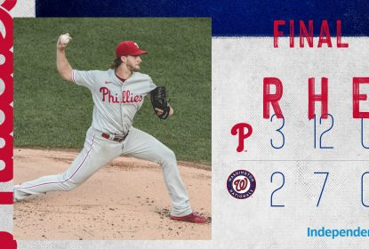 Phillies batem Nationals com ótima performance de Aaron Nola - The Playoffs
