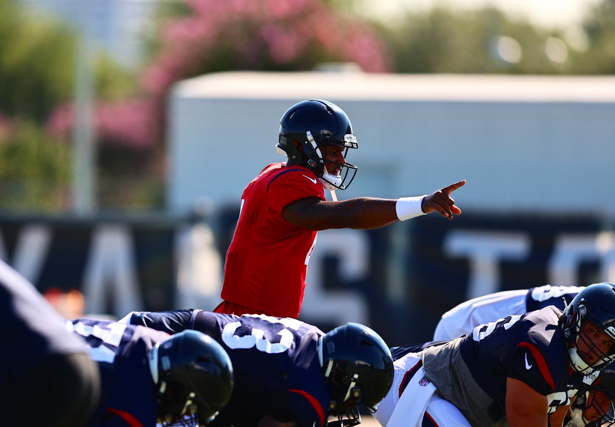 Deshaun Watson Houston Texans training camp