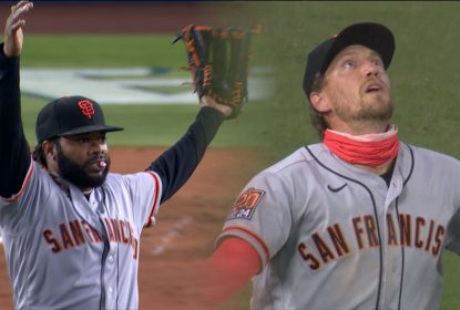Cueto perde no-hitter e San Francisco Giants derrota Los Angeles Dodgers - The Playoffs
