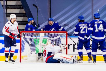 Lightning bate Capitals em duelo acirrado decidido no shootout - The Playoffs