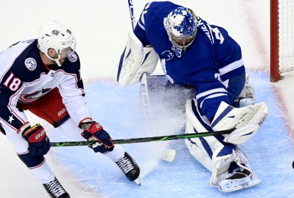 Toronto Maple Leafs vence Columbus Blue Jackets e empata a série - The Playoffs