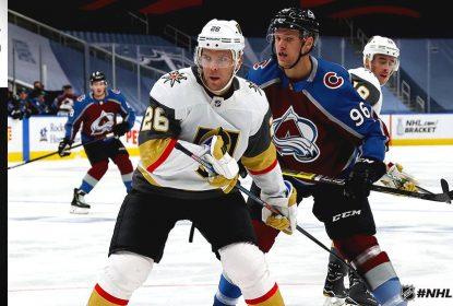 Golden Knights vencem Avalanche no overtime e levam 1º lugar do Oeste - The Playoffs