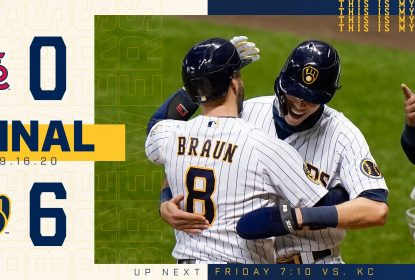 Brewers e Cardinals vencem na rodada dupla e embolam briga aos playoffs - The Playoffs