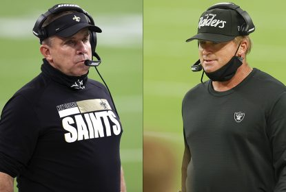 NFL multa Jon Gruden e Sean Payton por violar os protocolos do uso de máscara - The Playoffs